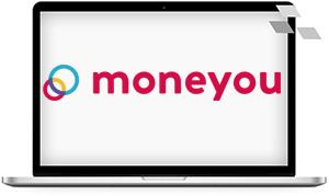 Moneyou Ratenkredit bietet einen echten Digitalkredit mit papierlosem Antrag an. Die Konditionen sind günstig