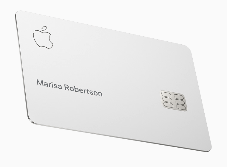 Apple Card: Physische Karte