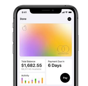 Apple Card: Kontoauszüge auf einen Blick