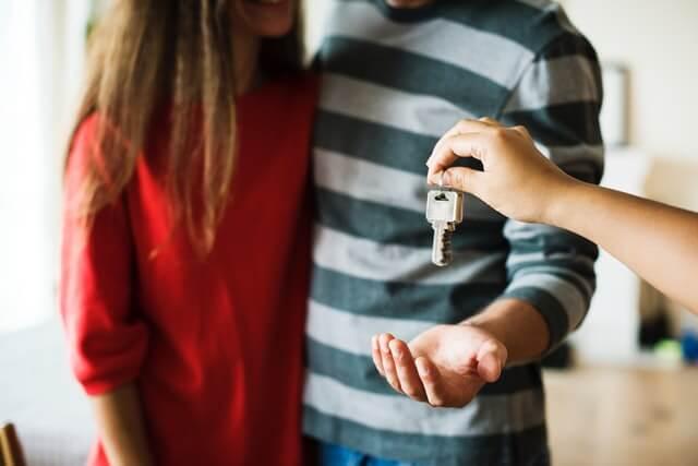 Passives Einkommen kann auch über Immobilien generiert werden.