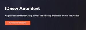 IDNow hat eine Zertifizierung für das AutoIdent Verfahren erhalten. Bildquelle: IDnow Services GmbH.