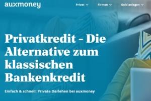 auxmoney agiert nun unter dem Dach einer irischen Holding. Bildquelle: auxmoney.com