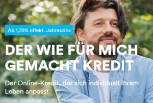 Die Targobank bietet den Online Kredit seit dem 09.06.21 mit niedrigeren Zinssätzen und höheren Kreditbeträgen an. Bildquelle: targobank.de - TargoBank AG.