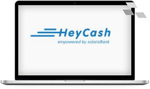 HeyCash bietet exklusiv über Veriovx einen digitalen Kredit an.