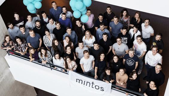 Ein Teil des Mintos-Team in Riga. Bildquelle: Mintos Webseite - mintos.com