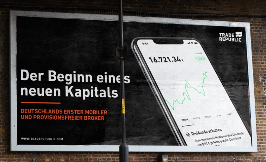 Trade Republic - Der Beginn eines neuen Kapitals. © Trade Republic Bank.