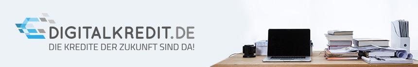 Digitalkredit.de ist das 1. Vergleichs- und Informationsportal für digitale Kredite.