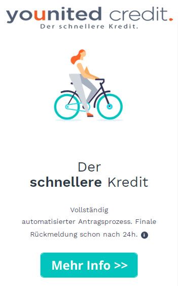Younited Credit - der schnellere Kredit.